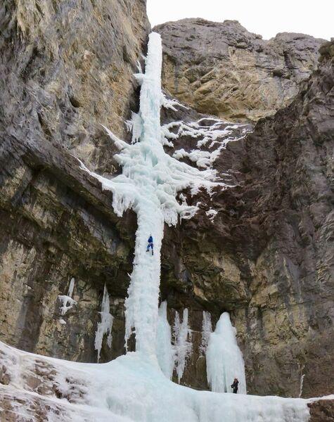 Eisfallklettern