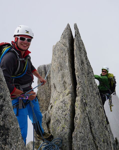 Grundkurs Bergsteigen Fels, Firn und Eis