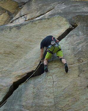 Rissklettern/Clean Climbing