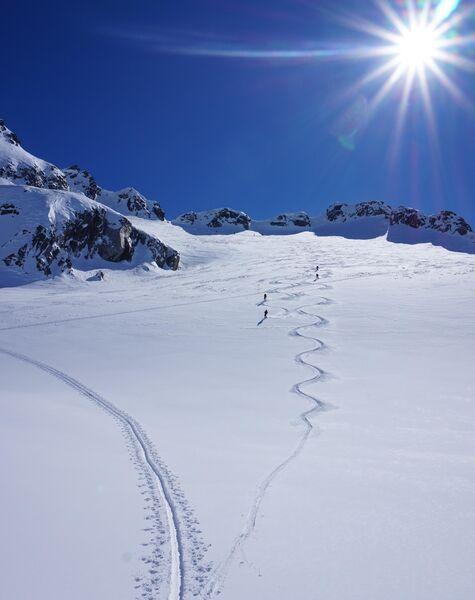 Grundausbildung Skihochtouren