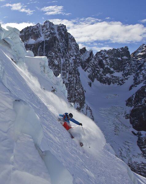 Skitechnik (von der Piste ins Tourengelände)